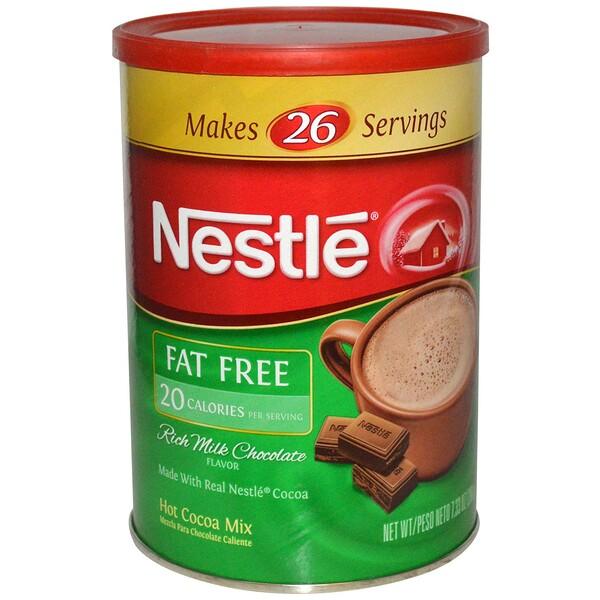 Nestle Hot Cocoa Mix, Насыщенное горячее какао со вкусом молочного шоколада, без содержания жиров, 7,33 унции (208 г) (Discontinued Item)