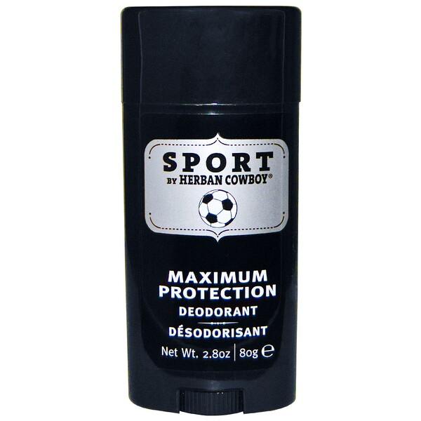 Sport, дезодорант с максимальной защитой, 2,8 унции (80 г)