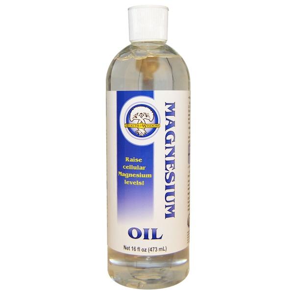 Магниевое масло, 473 мл (16 жидких унций)