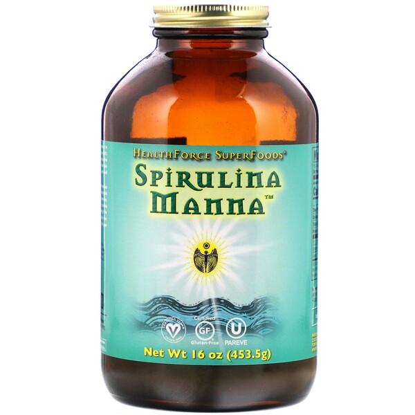 Spirulina Manna, 453,5 г (16 унций)