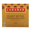 Larabar, The Original Fruit & Nut Food Bar, Peanut Butter Chocolate Chip, 5 Bars, 1.6 oz (45 g) Each