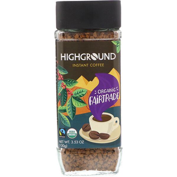 Органический растворимый кофе, средний, 100 г