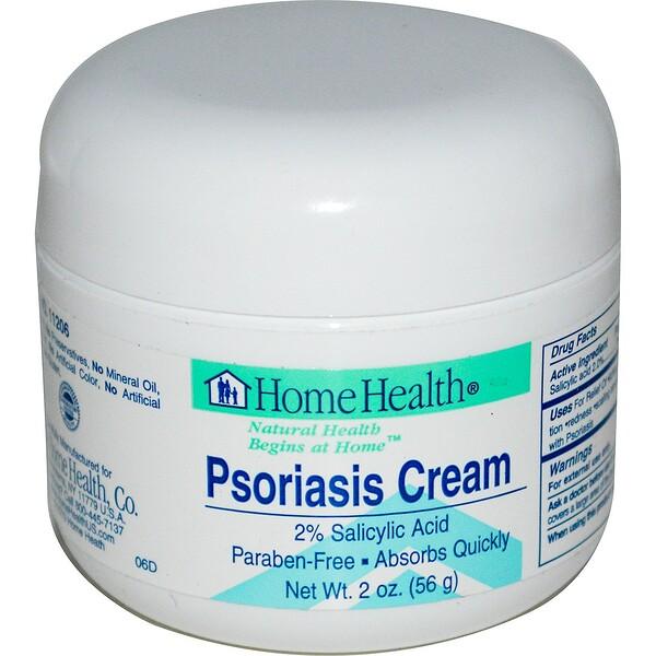 Home Health, Крем от псориаза, 56 г (2 унции)