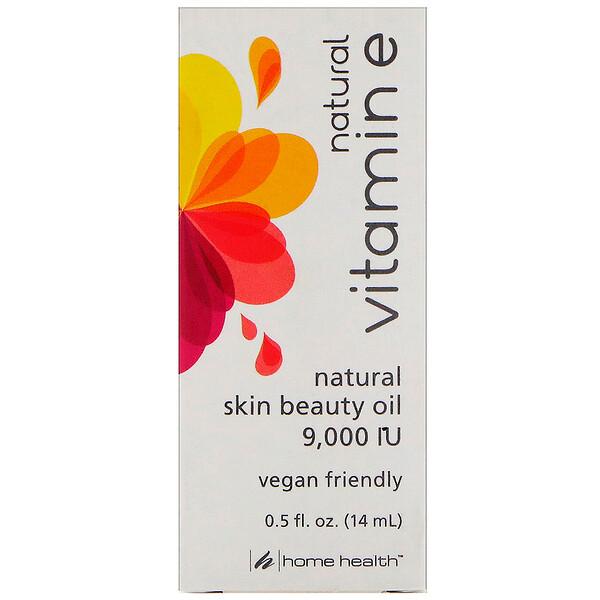 Home Health, Натуральный витамин Е, 0,5 жидких унции (14 мл) (Discontinued Item)