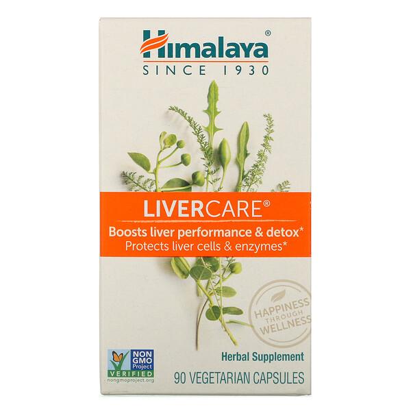 Himalaya, LiverCare, 90 вегетарианских капсул