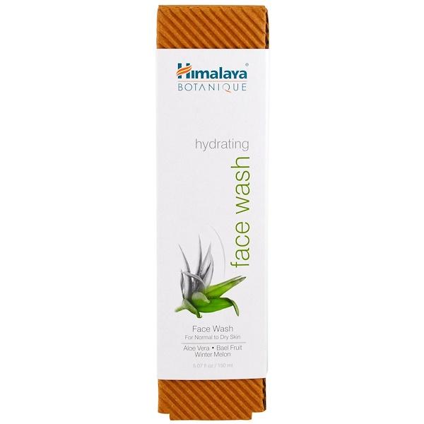 Himalaya, Растительное увлажняющее средство для умывания для нормальной и сухой кожи, 5,07 ж. унц. (150 мл) (Discontinued Item)
