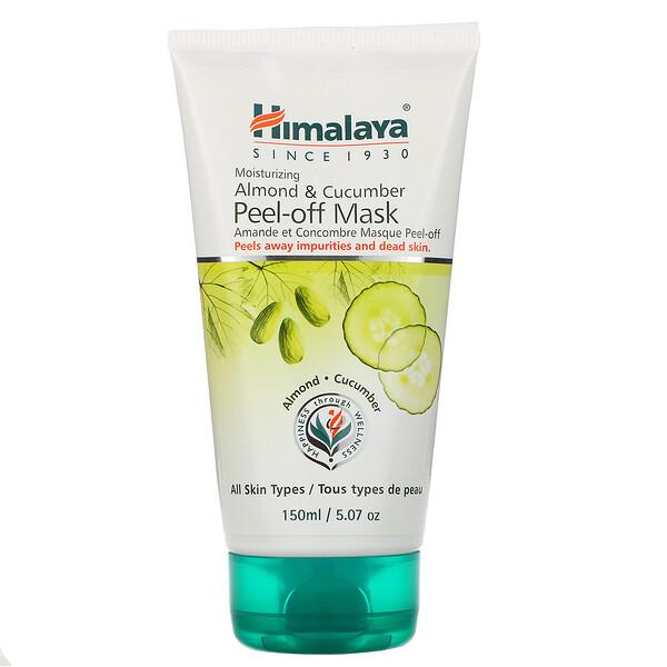 Almond & Cucumber Peel-off Mask, For All Skin Types, 5.07 fl oz (150 ml)