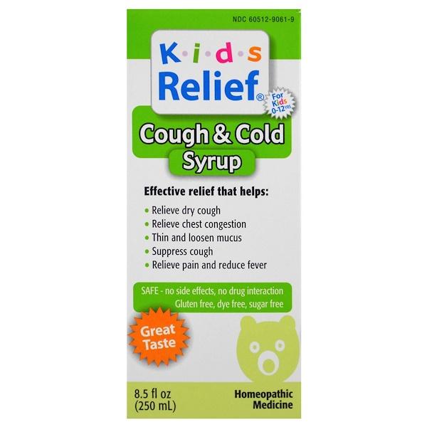 Homeolab USA, В помощь детям, от кашля и насморка, 8,5 жидких унций (250 мл) (Discontinued Item)