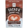 Hana Beverages, Латте с какао и кокосом, некофейный питательный напиток, 454г (16унций)