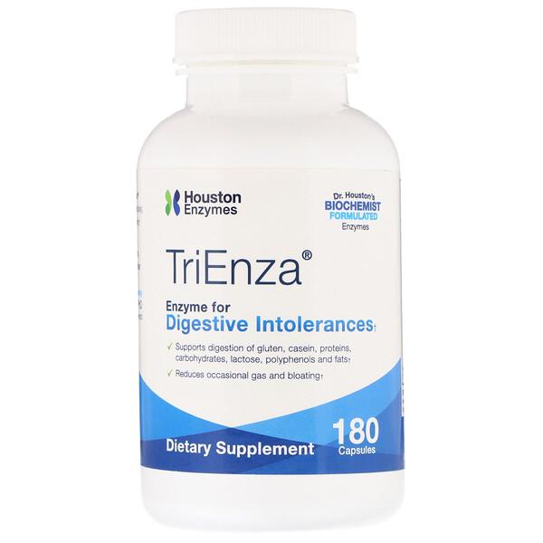 TriEnza, ферменты для пищеварительной системы, 180капсул