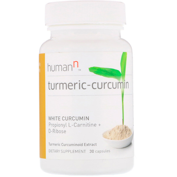 HumanN, Turmeric-Curcumin, экстракт куркуминоидов куркумы, 30 капсул (Discontinued Item)