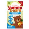 Hero Nutritional Products, Yummi Bears, мультивитаминный комплекс, натуральные вкусы клубники, апельсина и ананаса, 90 вкусных жевательных мишек