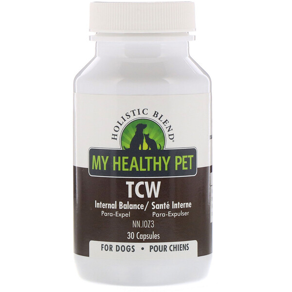 My Healthy Pet,  TCW, Internal Balance, For Dogs, 30 Capsules