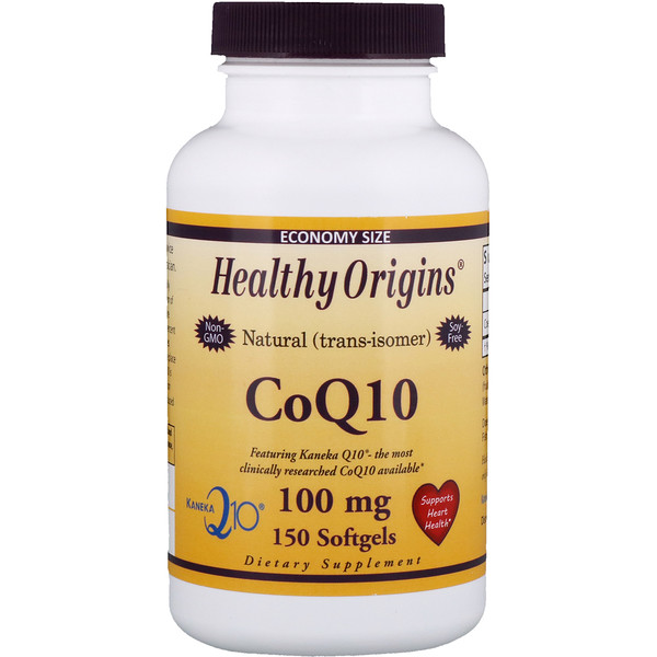 Healthy Origins, Коэнзим Q10, Kaneka Q10, 100 мг, 150 мягких таблеток (Discontinued Item)