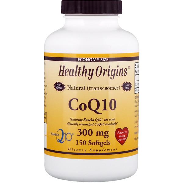 Healthy Origins, Коэнзим Q10 от Kaneka, 300 мг, 150 мягких таблеток (Discontinued Item)