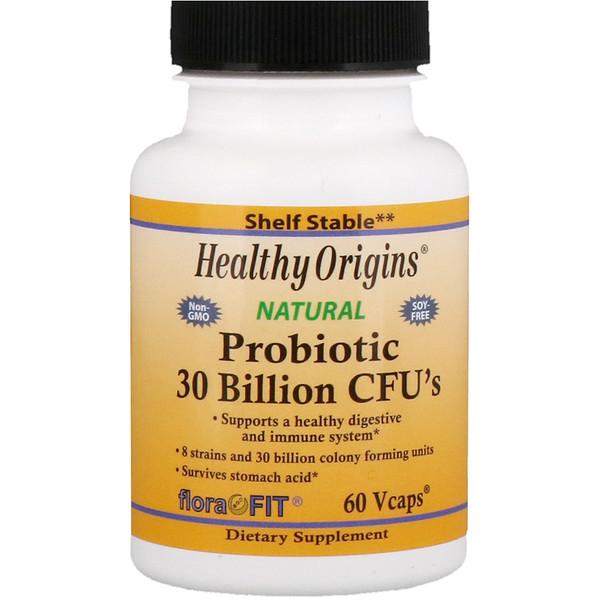 Healthy Origins, Пробиотик, 30 млрд КОЕ, 60 растительных капсул (Discontinued Item)