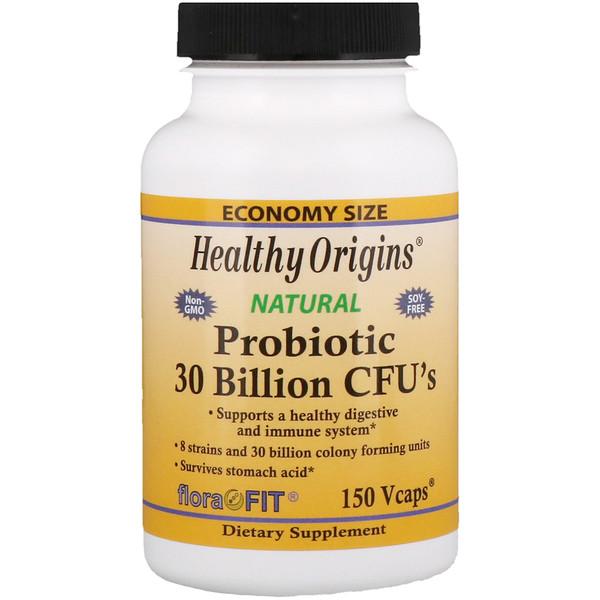 Healthy Origins, Пробиотик, 30 млрд КОЕ, 150 растительных капсул (Discontinued Item)