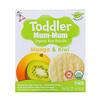 Hot Kid, Toddler Mum-Mum, органическое рисовое печенье, манго и киви, 12 упаковок, 2,12 унции (60 г)