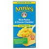 Annie's Homegrown, Rice Pasta & Classic Cheddar, Gluten Free, 6 oz (170 g)