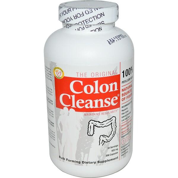 Очищение кишечника, One, 625 мг, 200 капсул