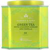 Harney & Sons, Зеленый чай с кокосом, имбирем и ванилью, 30 пакетиков, 2,67 унции (75 г)