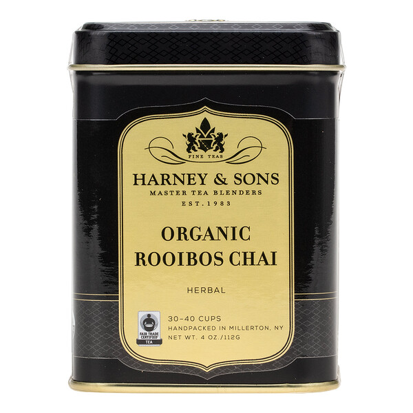 Organic Rooibos Chai, Herbal Tea, 4 oz (112 g)
