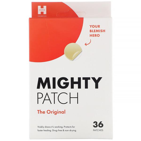Hero Cosmetics, Mighty Patch, оригинальные пластыри, 36шт.