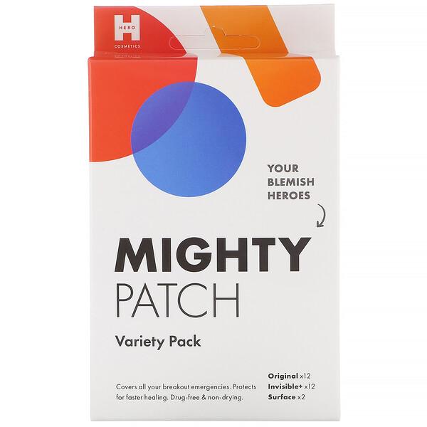 Mighty Patch, патчи разных видов, 26шт.