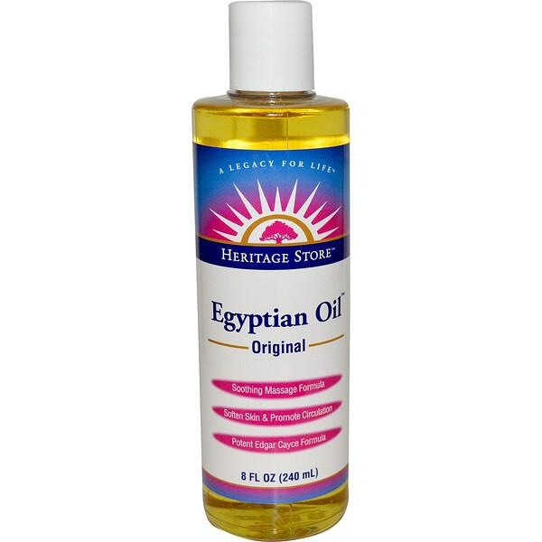 Египетское масло, оригинальное, 8 жидких унций (240 мл)