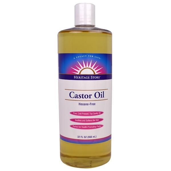 Касторовое масло, 32 жидких унции (960 мл)
