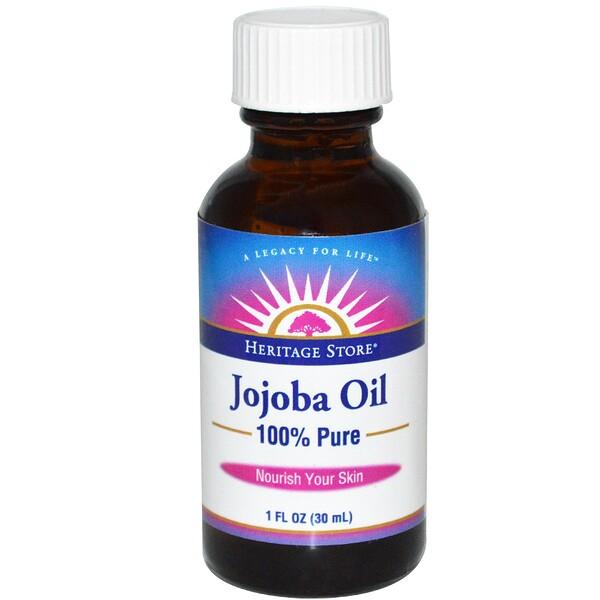 100% чистое масло жожоба, 1 жидкая унция (30 мл)