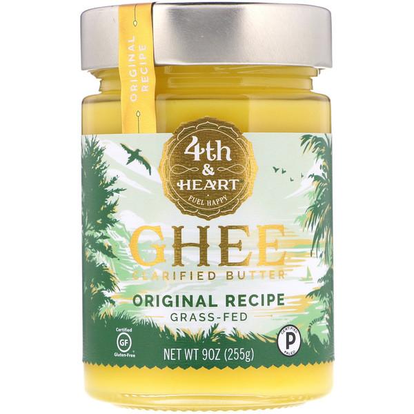 Очищенное топленое масло гхи, экологически чистое, по оригинальному рецепту, 255г (9 унций)