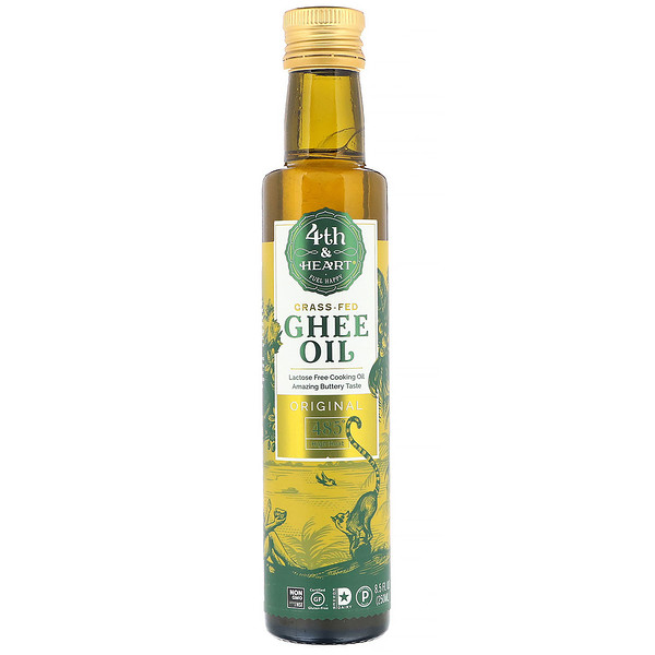 4th & Heart, Ghee Oil, Original, 8.5 fl oz (250 ml)