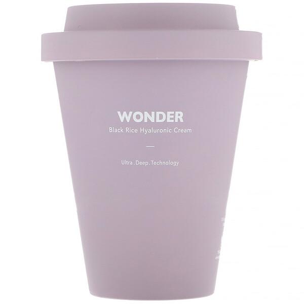 Wonder, гиалуроновый крем с черным рисом, 90мл (3жидк.унции)