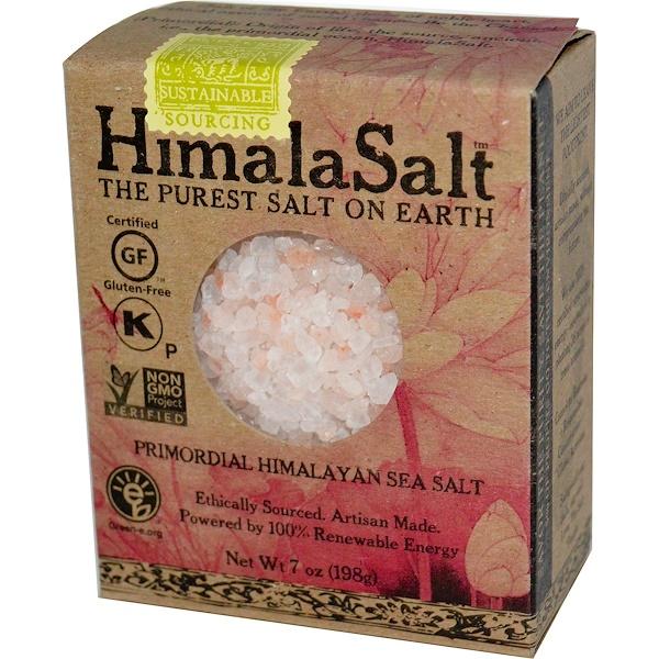 HimalaSalt, Древняя гималайская морская соль, 7 унций (198 г) (Discontinued Item)