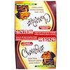 HealthSmart Foods, Чокорайт, шоколадная хрустящая Карамель, 16 шт., 1,13 унции (32 г)
