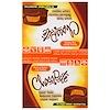HealthSmart Foods, ChocoRite, Peanut Butter Cup Patties, 16 Count, 1.27 oz (36 g) Each