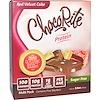 HealthSmart Foods, Батончики ЧокоРайт,  красный бархатный торт, 5 батончиков, по 5,6 унции (32 г) каждый