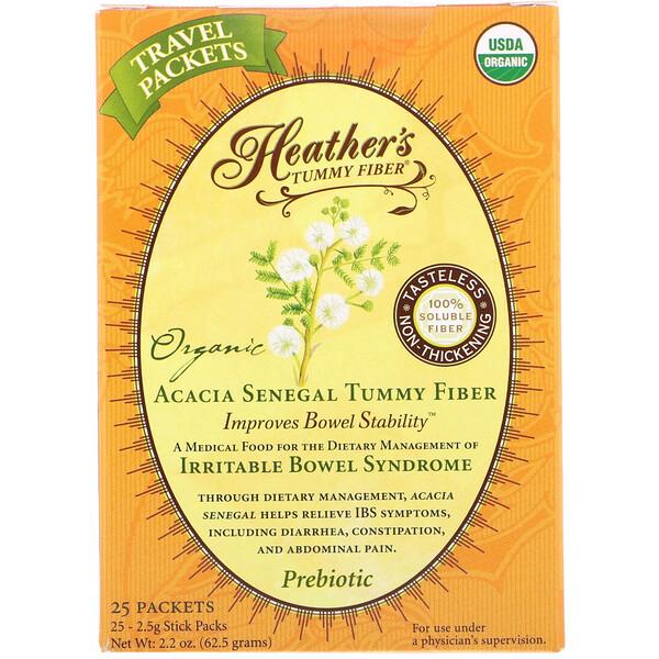 Волокна для улучшения пищеварения, Органические волокна акации сенегальской, 1 чайный пакет