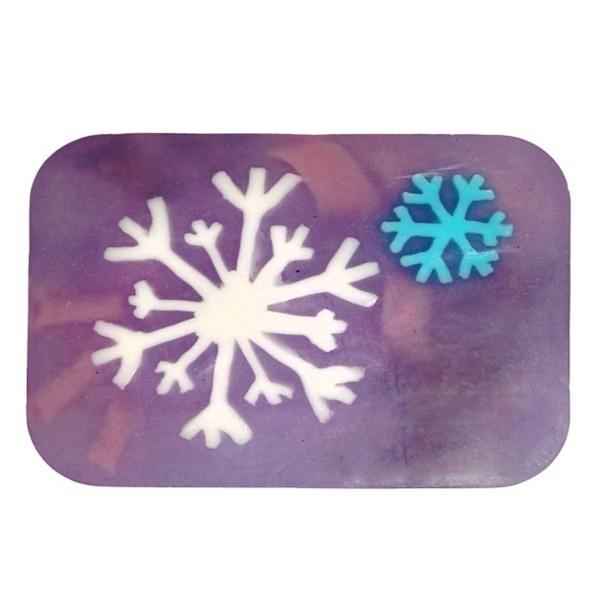 Hugo Naturals, Мыло Arisan со снежинками с ароматом ванили и мяты перечной, 6 унций (170 г) (Discontinued Item)