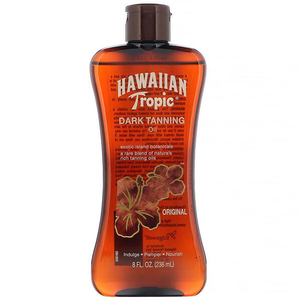 Hawaiian Tropic, Dark Tanning, масло для загара, 236мл