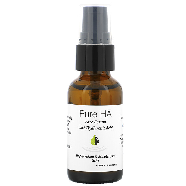 Pure Hyaluronic Acid Face Serum, 1 fl oz (30 ml)