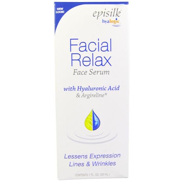 Episilk, расслабляющая сыворотка для лица, 30 мл (1 жидкая унция)