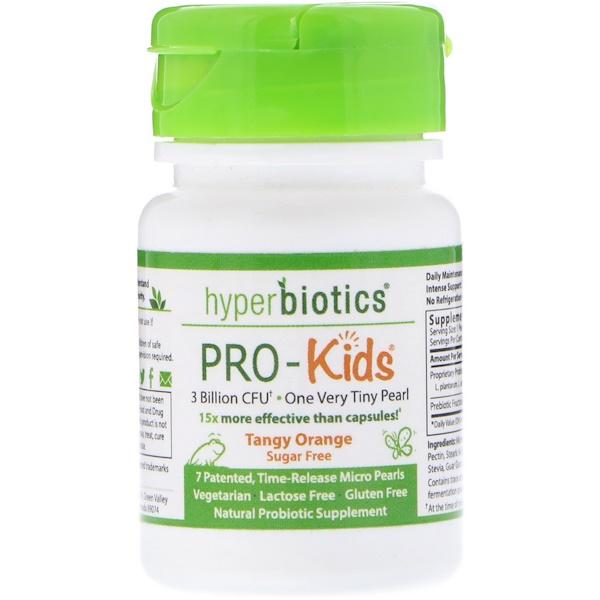 PRO-Kids, Терпкий апельсин, Без сахара, 7 микро-жемчужин