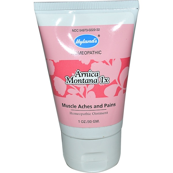Hyland's, Arnica Montana 1x, Homeopathic Ointment, 1 oz (30 g) (Discontinued Item)