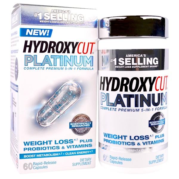 Hydroxycut, Platinum, 60 Rapid-Release Capsules