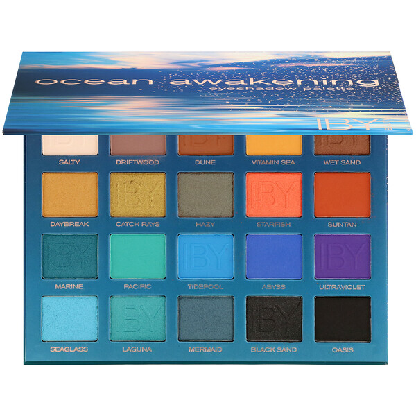 IBY Beauty, Eyeshadow Palette, Ocean Awakening, 0.7 oz (20 g)