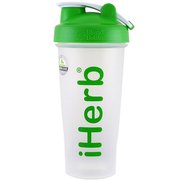 бутылка-шейкер с шариком для смешивания, зелёный цвет, 28 унций