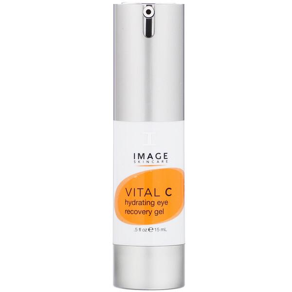 Image Skincare, Vital C Hydrating Eye Recovery Gel, 0.5 fl oz (15 ml) (Discontinued Item)
