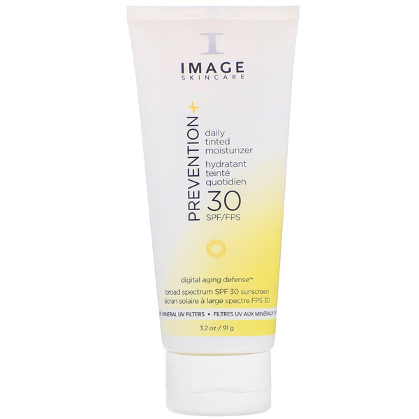 Image Skincare, Prevention+ Daily Tinted Moisturizer, SPF 30, 3.2 oz (91 g) (Discontinued Item)